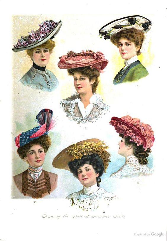 Hats Delineator 1903