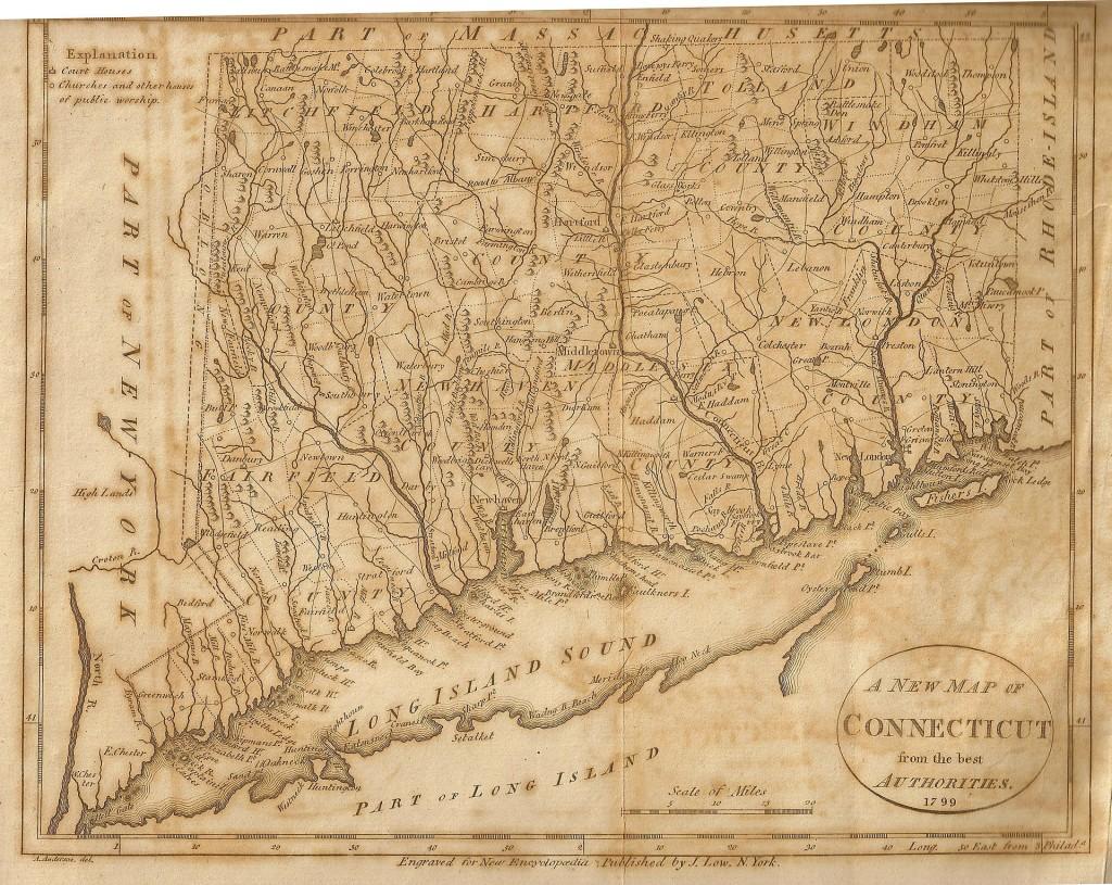 Oblong map 1799